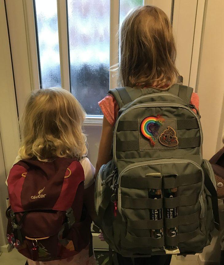 Notfallrucksack für Kinder